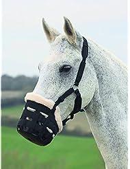 Shires Deluxe Comfort Muselière de pâturage pour chevaux