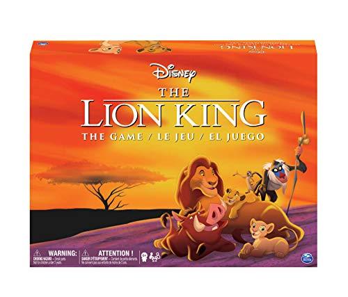 Spin Master Disney Lion King Juego Mesa Carreras Niños