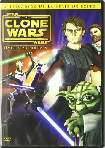 Star Wars The Clone Wars Temp.1 Vol.1 (Import Dvd) (2009) Varios
