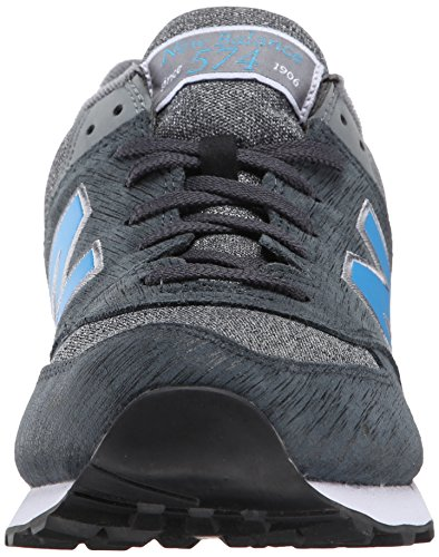 New Balance ML574 D, Baskets mode homme Noir (Ttc Black/Grey)