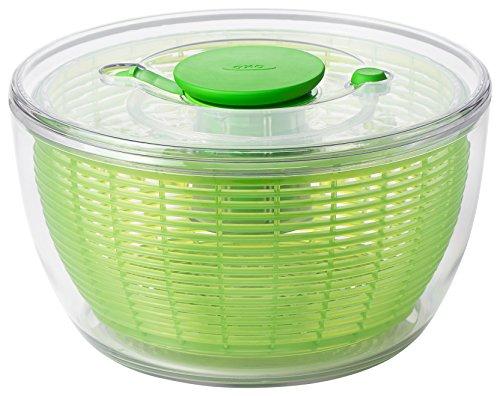 OXO - Good Grips Essoreuse à Salade 4.0 Vert, Plastique, Vert, 58.42 x 29.84 x 35,56 cm