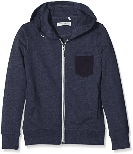 teddy-smith-geler-sweat-shirt-a-capuche-garcon-bleu-us-navy-chine-fr-14-ans-taille-fabricant-14