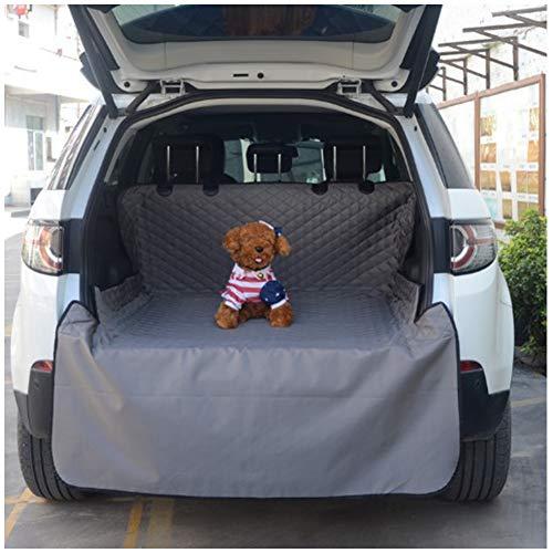 DYYTR Auto-Kofferraumabdeckung Für Hunde, Wasserdichter, Schmutzabweisender Rücksitz Mit Seitenschutz Universal Für Auto-SUV-LKW Haustier-Sitzbezug Auto-Kofferraumschutz rutschfest (Suv Sitzbezüge)