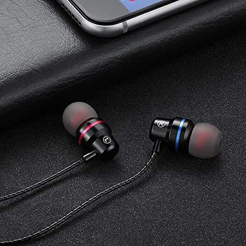 e518da01f6ce6b BigBig Style Universal Type-C HiFi Headset Cuffie Stereo in-Ear Auricolari  con Microfono