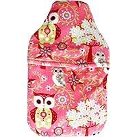Vagabond Bags Ltd Pink Owl 2Liter Wärmflasche und Bezug preisvergleich bei billige-tabletten.eu