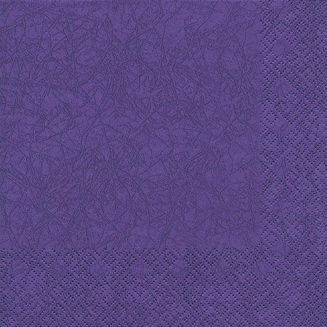 20 Servietten Uni lila / Modern colours / einfarbig / zeitlos 33x33cm
