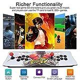 Machine de Jeu vidéo Arcade 2350 Jeux Classiques, 2 Joueurs Joystick Arcade Console de Jeux Retro, 1920x1080 Full HD, Bouton personnalisé, Supporte PS3, Output de HDMI et VGA (Model: BZ-2350)