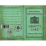 Children's Identity Card from World War 2 - REPLICA DOCUMENT