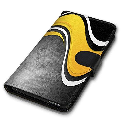 Wallet Book Style Flip Handy Tasche Case Schutz Hülle Schale Motiv Etui für Apple iPhone 6 Plus / 6S Plus - Variante UMV6 Design12 Design 11