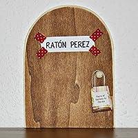 Ratoncito Perez: La auténtica puerta mágica del Ratoncito Perez ♥ con una pequeña bolsita (incluída de regalo) para dejar el diente. El Ratoncito Perez, vendrá a por tu diente y te dejará una monedita o alguna sorpresita. ♥ ♥