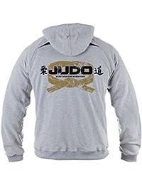 Dirty Ray Arts Martiaux Judo Eté Demi-Saison homme sweat à capuche BLDT11