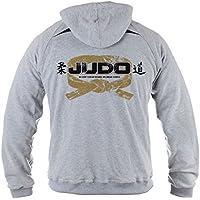 Dirty Ray Artes Marciales Judo sudadera hombre verano temporada media con capucha BLDT11 (L)