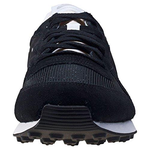Nike Herren Internationalist Laufschuhe Schwarz (Black/mtlc Silver/white/flt Silver)