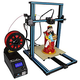 Creality 3D Drucker Kit (verbesserte Version) CR-10S DIY Kit mit 1,75mm Filament / 0,4mm Düse/Dual Leading Schraube/beheiztes Bett/High-Precisio Free Testing Filament