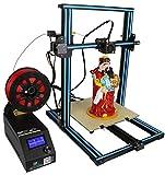 Creality 3D Drucker Kit (verbesserte Version) CR-10S DIY Kit mit 1,75mm Filament / 0,4mm Düse/Dual Leading Schraube/beheiztes Bett/High-Precisio Free Testing Filament