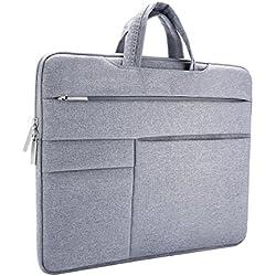 Laptoptasche, ONCHOICE 14-15.6 Zoll Ultra slim tragbares Wasserdicht Stoßfest Notebook Tasche Schutztasche sleeve hülle für Apple Macbook Pro/Surface Laptop/Acer/ Asus/ Dell/ Lenovo/ HP