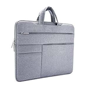 ONCHOICE Borsa per PC portatile, Custodia per Laptop Sleeve Case Protettiva Ventiquattrore 14-15.6 Pollici Antiurto Neoprene Impermeabile per MacBook Pro/Pro Retina/Acer/Asus/Dell/Lenovo/HP