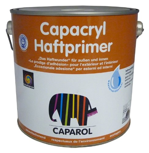 Caparol Capacryl Haftprimer Grundierung 2,5 Liter Weiß