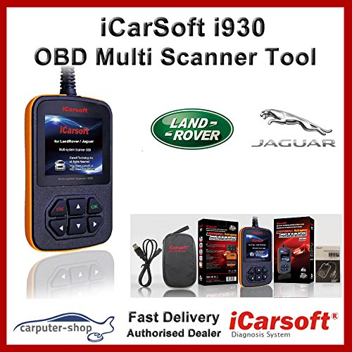iCarsoft i930 OBD Multi-System-Scanner Diagnosewerkzeug  (Land Rover-scanner)