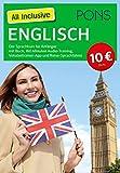 PONS All Inclusive Englisch: Der Sprachkurs für Anfänger mit Buch, 160 Minuten Audio-Training, Vokabeltrainer-App und Reise-Sprachführer (PONS All inclusive Sprachkurs)