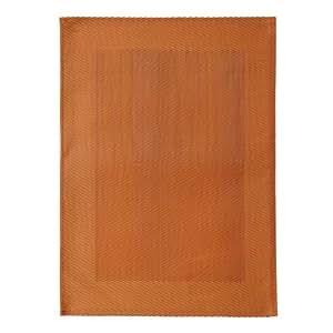 Chemin de table cuivre 130 x 43 cm, 1 pièce.