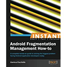 Android Fragmentation Management How To