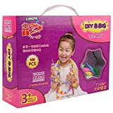 #5: Chrome Do-It-Yourself Jewellery making bright and colourful beads easy to assemble DIY toy accessories set (188 Pcs)
