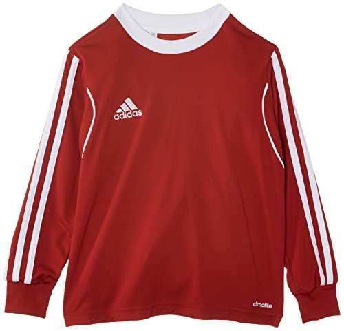 adidas Jungen Trikot Squadra13 1/1 Arm, University Red/White, 164, Z20636