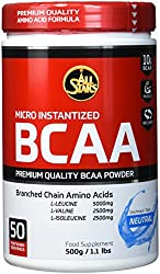 All Stars BCAA Powder, Neutral, 1er Pack (1 x 500 g)