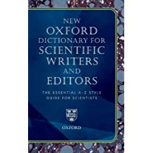 Oxford Dictionary for Scientific Writers and Editors