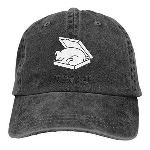 Wfispiy Karikatur-Katze 2019 bedeckt Baseballmütze-Sport-Hut