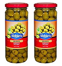 Abbie's Green Olive, Plain, 450g (Pack of 2)