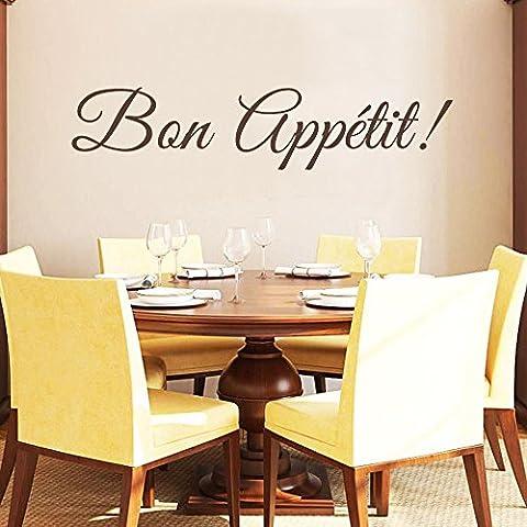 Buon appetito, in vinile da parete cucina italiana lettering Wall