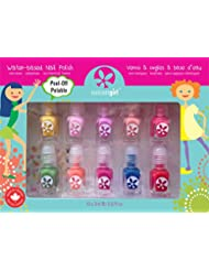SUNCOAT GIRL Party Palette Kit de 10 Mini Vernis pour Enfant