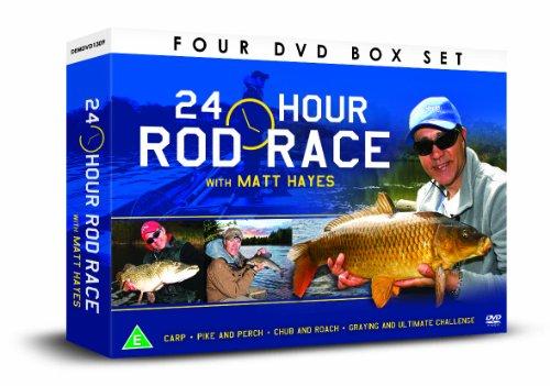 Matt Hayes 24 Hour Rod Race 4 DVD Gift Set [UK Import]