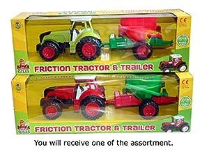 A to Z 1782 - Tractor y Remolque, Multicolor