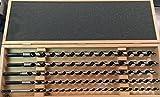 FISCH Elite 008400005K4601 - Coffret de 5 mèches 0084 460mm D8, 10, 12, 14,16mm