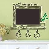 Creative Cuisine Ardoise Murale Stickers Décorations Pour La Maison Blackboard Étanche Stickers Muraux Vinyle Papier Peint Art 42 * 73 Cm