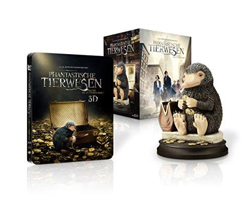 Phantastische Tierwesen und wo sie zu finden sind: Sammleredition mit Niffler-Figur [Steelbook] [3D Blu-ray] [Limited Edition] -