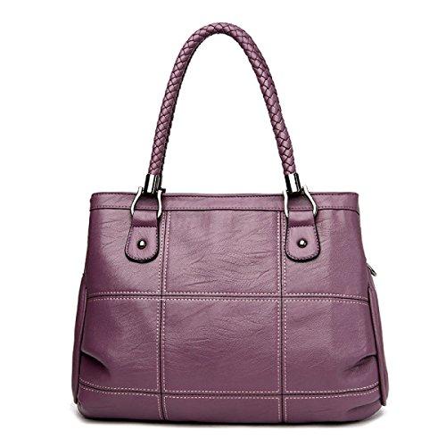 Tragbare Mode Purple Lässig Schulter Frauen Mutter Tasche Umhängetasche DHFUD O4gUz5Oq