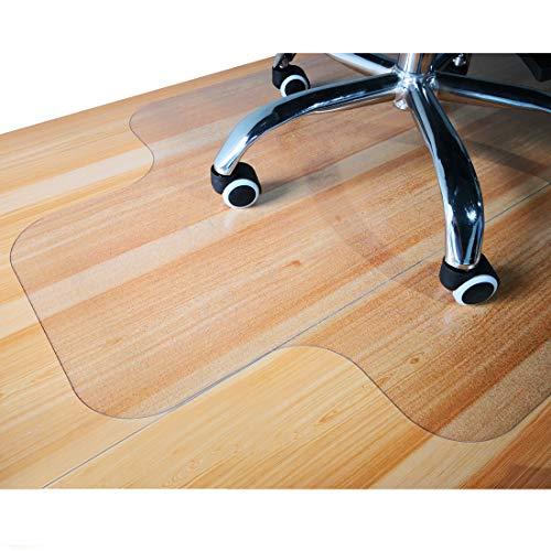 GIOVARA tapete transparente silla borde suelos duros