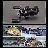 Familyhan Abu Garcia Fishing Reel PRO Pmax3-L Baitcasting Water Drop Wheel 7.1:1 Gear Ratio 8KG Bearing Fishing Tool for Left Hand