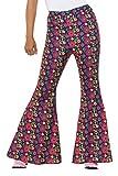 Smiffy 's 47451s 60s de CND psicodélica de mecánico pantalones, mujer, mujer, multicolor, s-uk tamaño 08–10