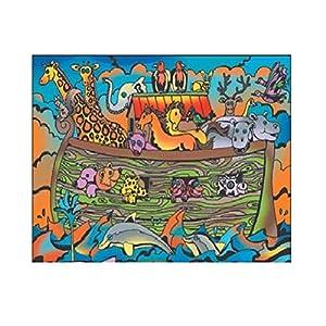 Colorvelvet 37x 28cm del Arca de Noé Sistema de Dibujo para Colorear (tamaño Mediano