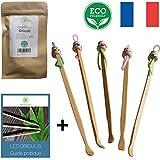 Oriculi en Bambou 5x - Cure Oreille Écologique pour Remplacement Coton Tige + E-Book [Satisfait ou Remboursé pendant 30 Jours]