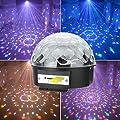 GadgetZone® USB Large Magic Ball MP3 Remote Control LED RGB Lights Speakers Disco DJ Stage Lighting Home Dance Christmas Party Ballroom Club Pub Bar Disk Amazing Magic Ball