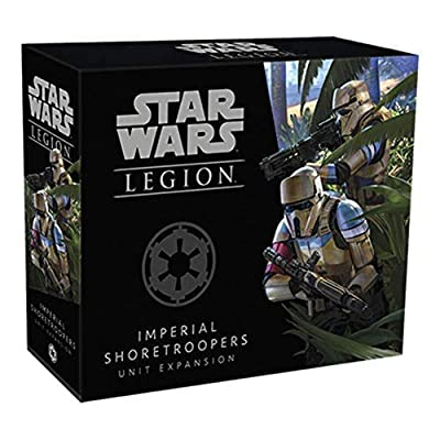 Fantasy Flight Games FFGSWL41 Star Wars Legion : Imperial Shoretroopers Unit Expansion, Couleurs mélangées