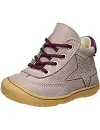 Ricosta Cory–Chaussures avec Lacets de Cuir Enfants ^ Filles
