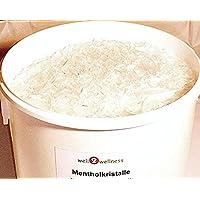 Cristales de mentol intensa en la 25 kg Barril - de 100% aceite puro de menta para Bueno