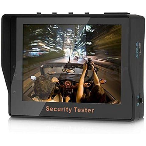 3.5TFT LCD Audio Video Fotocamera Tester Test Monitor Portatile, 12V